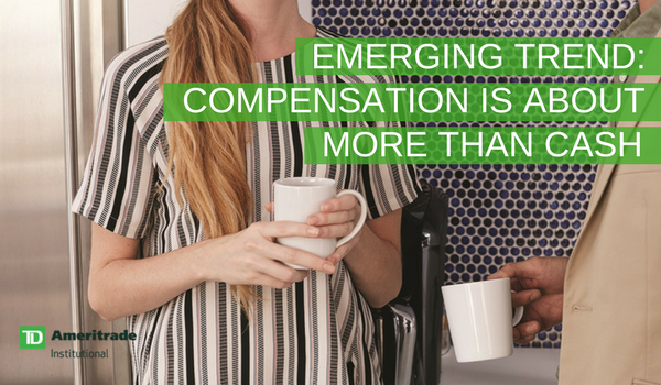 Emerging trend: Compensation is about more than cash