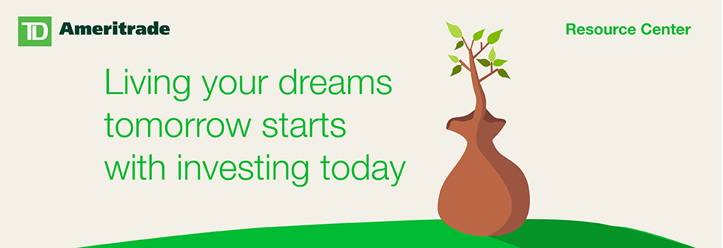 Living your dreams tomorrow starts with investing today